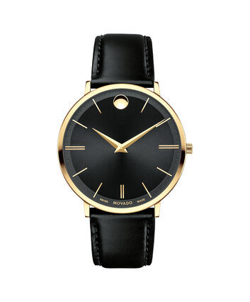 MOVADO Movado Ultra Slim0607087 – Men's 40 mm strap watch - Front view