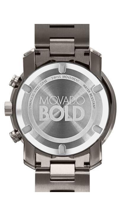 MOVADO Movado BOLD3600277 – Chronographe de 44 mm en métal - Back view