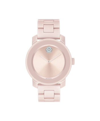 MOVADO Movado BOLD3600536 – 36 mm ceramic bracelet watch - Front view