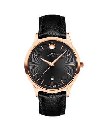 MOVADO 1881 Automatic0607457 – 1881 Automatic 39 mm, brac. souple - Front view