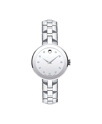 MOVADO Sapphire0606814 – Women's 28 mm bracelet watch - Front view
