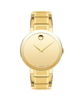 MOVADO Sapphire0607180 – Montre-bracelet à cadran de 39 mm pour hommes - Front view