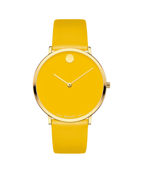 MOVADO Modern 470607255 – Movado.com EXCLUSIVE 40mm strap watch - Front view