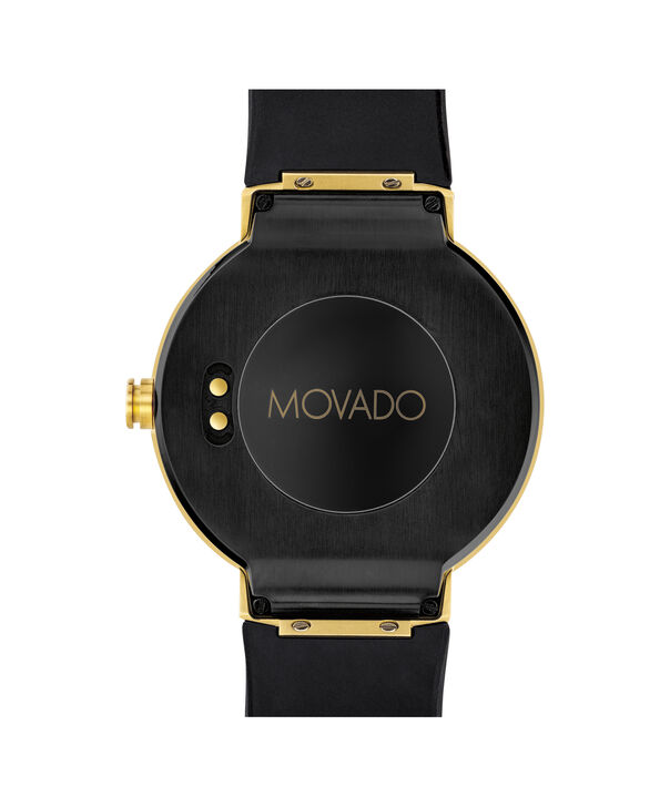MOVADO Movado Connect3660021 – 46.5 mm display smartwatch - Back view