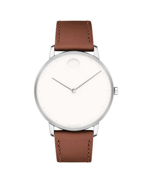 MOVADO Movado Face3640001 – Men's 41 mm strap watch - Front view
