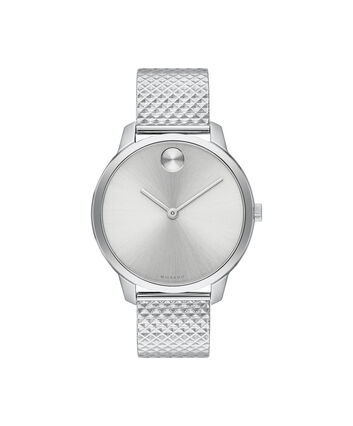 MOVADO Movado Bold3600595 – BOLD 35mm mince, mailles - Front view