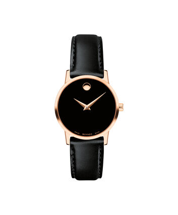 MOVADO Museum Classic0607276 – Women's 28 mm strap watch - Front view