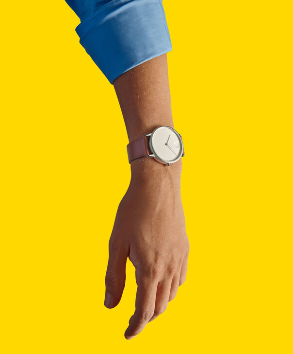 MOVADO Movado Face3640001 – Men's 41 mm strap watch - Back view