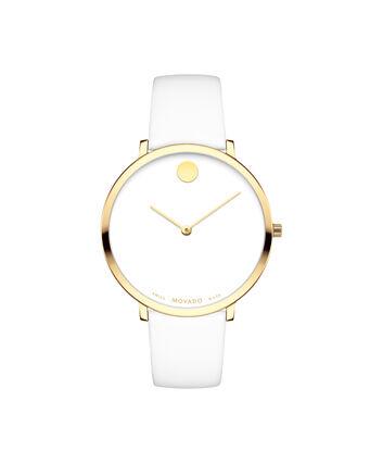 MOVADO 70th Anniversary0607138 – Montre à bracelet souple avec cadran en de 35 mm - Front view