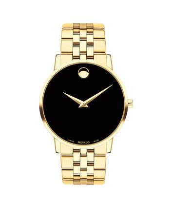MOVADO Museum Classic0607203 – Montre-bracelet à cadran de 40 mm pour hommes - Front view