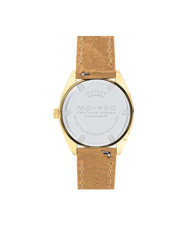 MOVADO Movado Heritage Series3650036 – Women's 31 mm strap watch - Back view