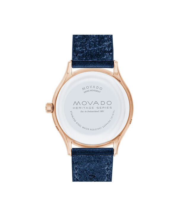MOVADO Movado Heritage Series3650011 – Women's 36 mm strap watch - Back view