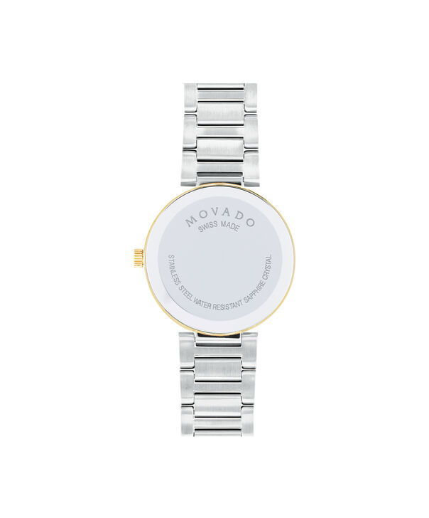 MOVADO Modern Classic0607103 – Montre-bracelet à cadran de 28 mm pour femmes - Back view