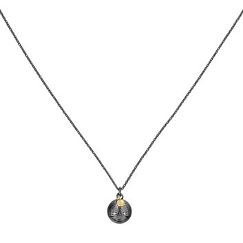 MOVADO Movado Sphere Necklace1840013 – Movado Sphere Bead Charm Necklace - Front view