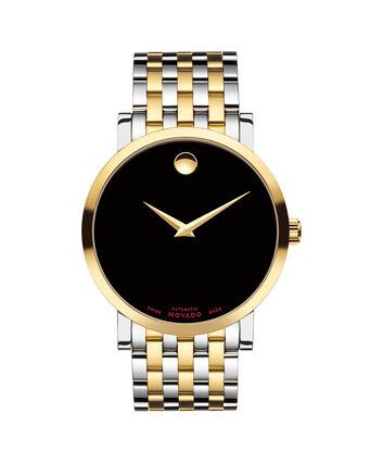 MOVADO Red Label0607008 – Montre-bracelet à cadran automatique de 42 mm pour hommes - Front view