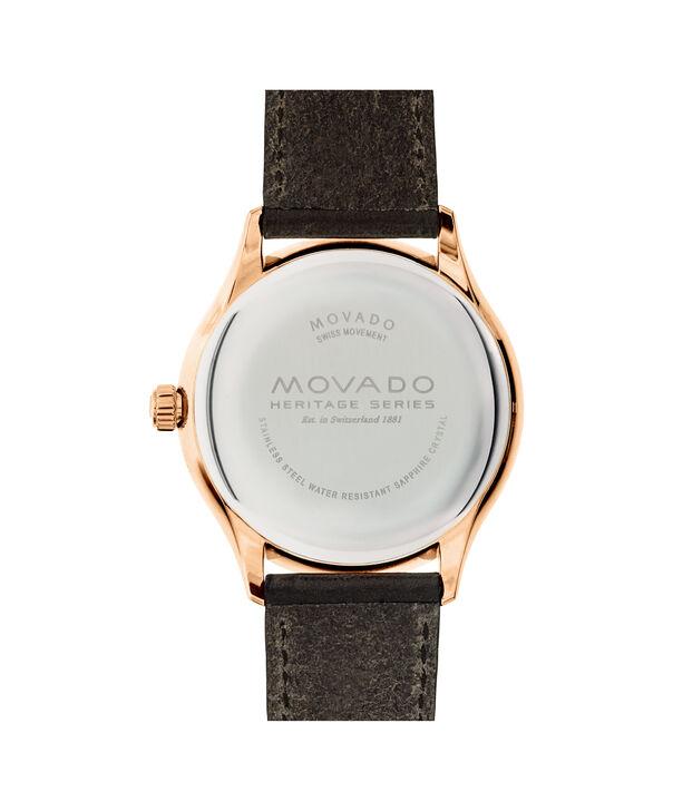 MOVADO Movado Heritage Series3650020 – Montre de 42 mm pour hommes - Back view