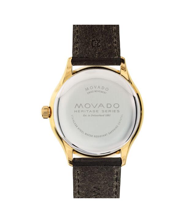 MOVADO Movado Heritage Series3650003 – Montre de 40mm pour hommes - Back view