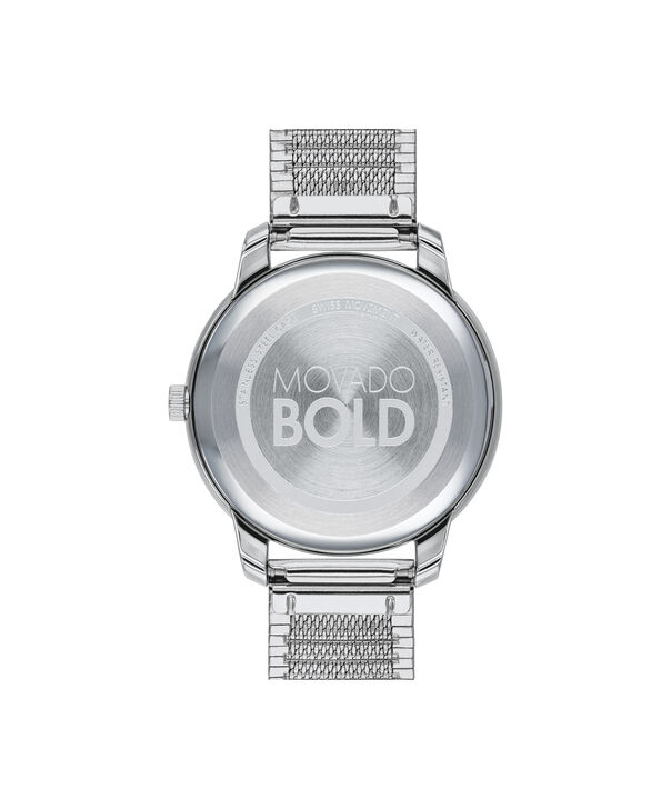 MOVADO Movado Bold3600595 – BOLD 35mm mince, mailles - Back view