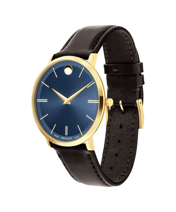 MOVADO Movado Ultra Slim0607088 – Men's 40 mm strap watch - Side view
