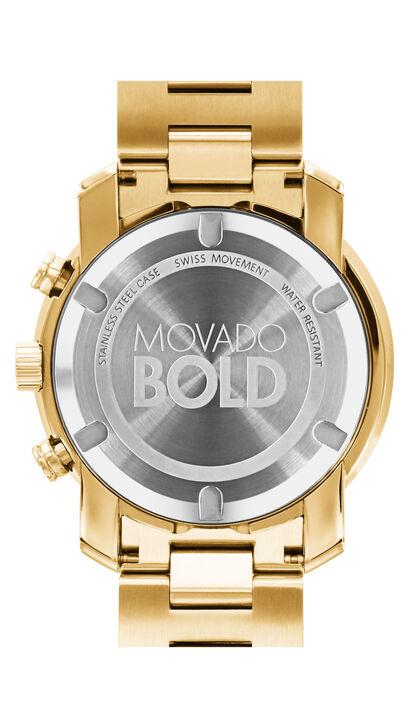 MOVADO Movado BOLD3600278 – Chronographe de 44 mm en métal - Back view