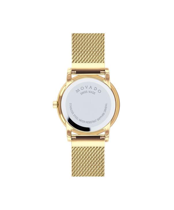 MOVADO Museum Classic0607307 – Women's 28 mm mesh bracelet watch - Back view