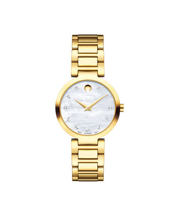 MOVADO Modern Classic0607105 – Women's 28 mm bracelet watch - Front view