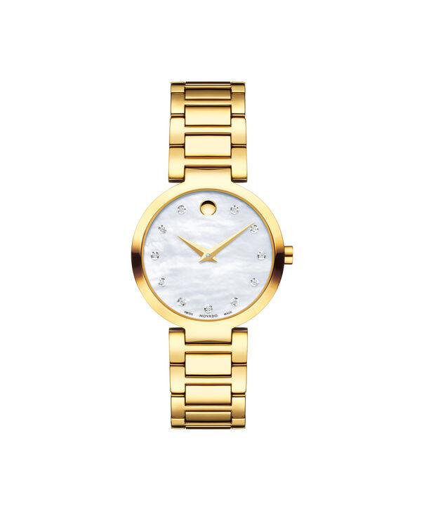 MOVADO Modern Classic0607105 – Montre-bracelet à cadran de 28 mm pour femmes - Front view