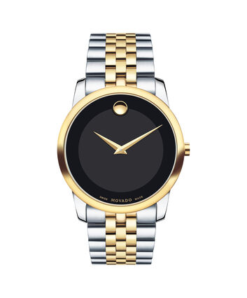 MOVADO Museum Classic0606899 – Men's 40 mm bracelet watch - Front view