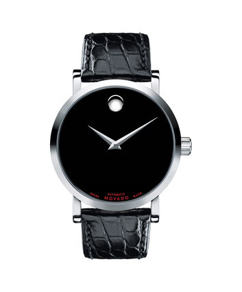 MOVADO Red Label0606112 – Men's 42 mm automatic strap watch - Front view