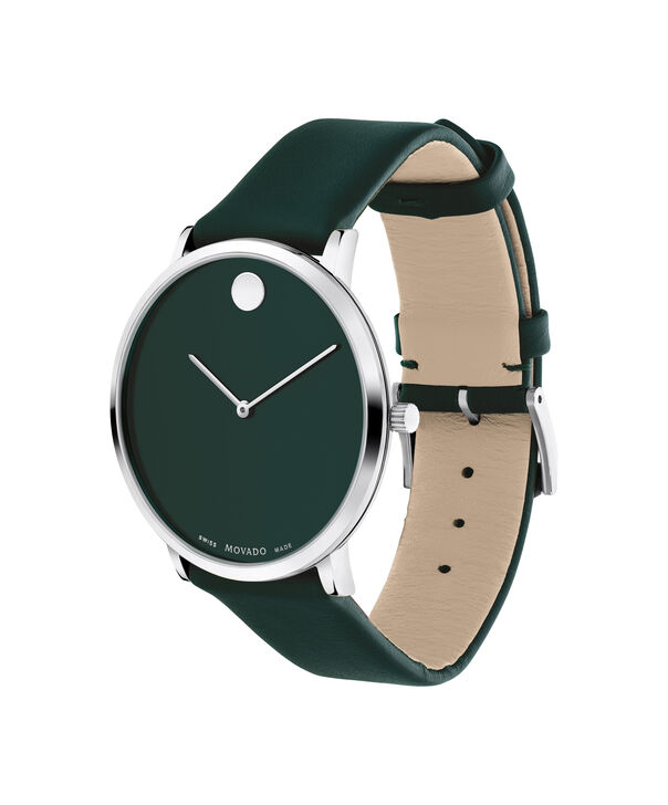 MOVADO Modern 470607258 – Movado.com EXCLUSIVE 40mm strap watch - Side view