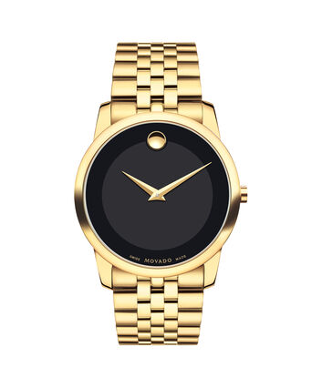 MOVADO Museum Classic0606997 – Men's 40 mm bracelet watch - Front view