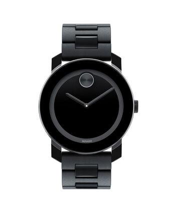 MOVADO Movado BOLD3600047 – Montre à bracelet souple avec cadran en TR90 de 42 mm - Front view