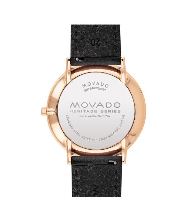 MOVADO Movado Heritage Series3650068 – Montre de 40 mm pour hommes - Back view