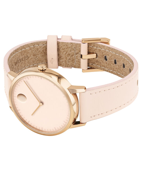MOVADO Movado Face3640011 – Women's 35 mm strap watch - Side view