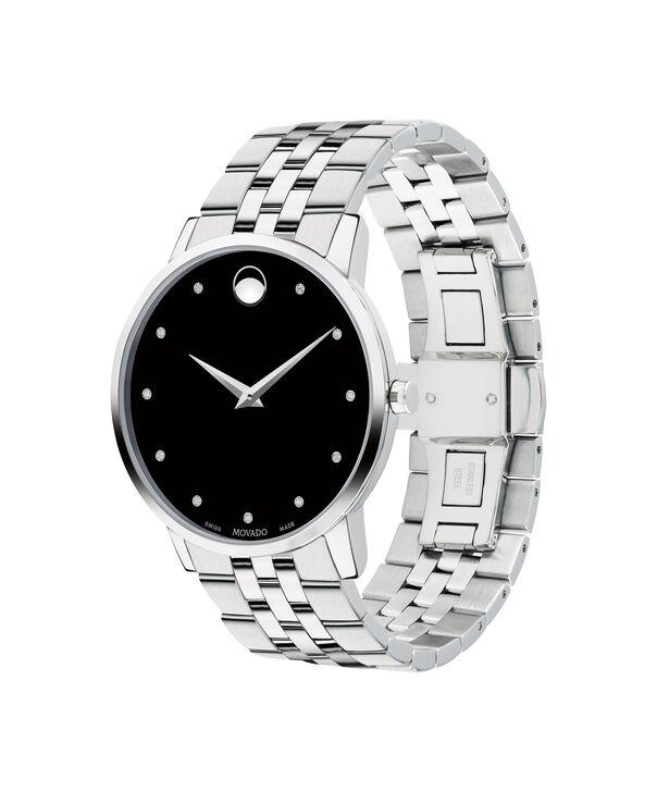 MOVADO Museum Classic0607201 – Montre-bracelet à cadran de 40 mm pour hommes - Side view