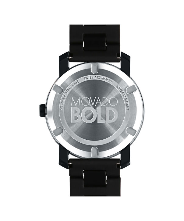 MOVADO Movado BOLD3600047 – 42 mm TR90 bracelet watch - Back view