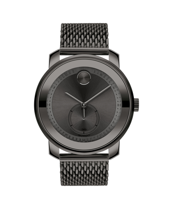 MOVADO Movado BOLD Metal3600679 – Movado BOLD Metal 45 mm, brac. maillles - Front view