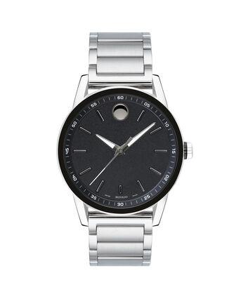 MOVADO Museum Sport0607225 – Men's 43 mm bracelet watch - Front view