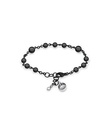 MOVADO Movado Sphere Bracelet1840023 – Bracelet-chaînette noir à billes - Front view