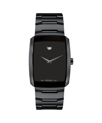 MOVADO Eliro0607187 – Montre-bracelet à cadran de 40 mm pour hommes - Front view
