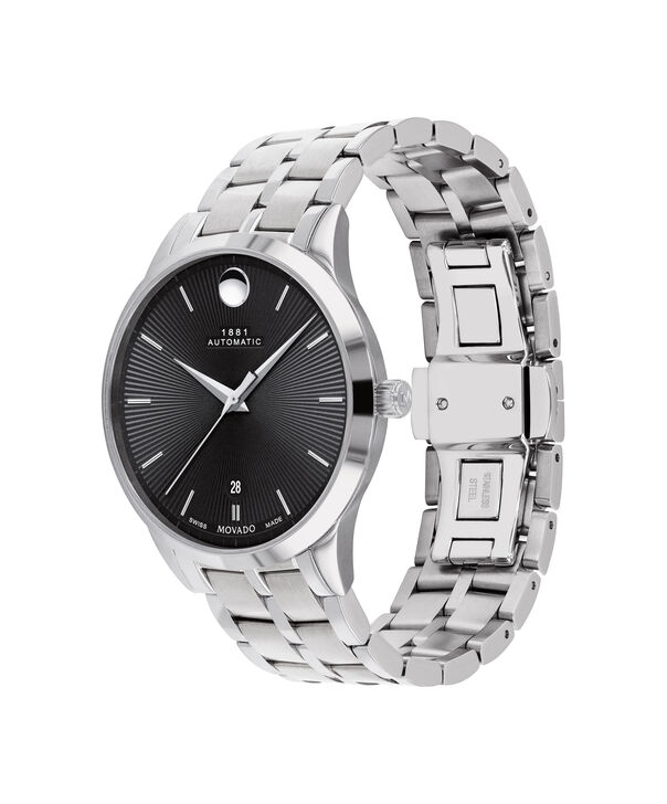 MOVADO 1881 Automatic0607461 – 39mm 1881 Automatic on Bracelet - Side view
