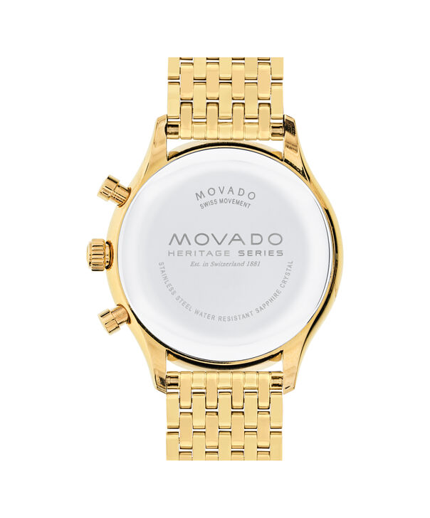 MOVADO Movado Heritage Series3650015 – 0 - Back view