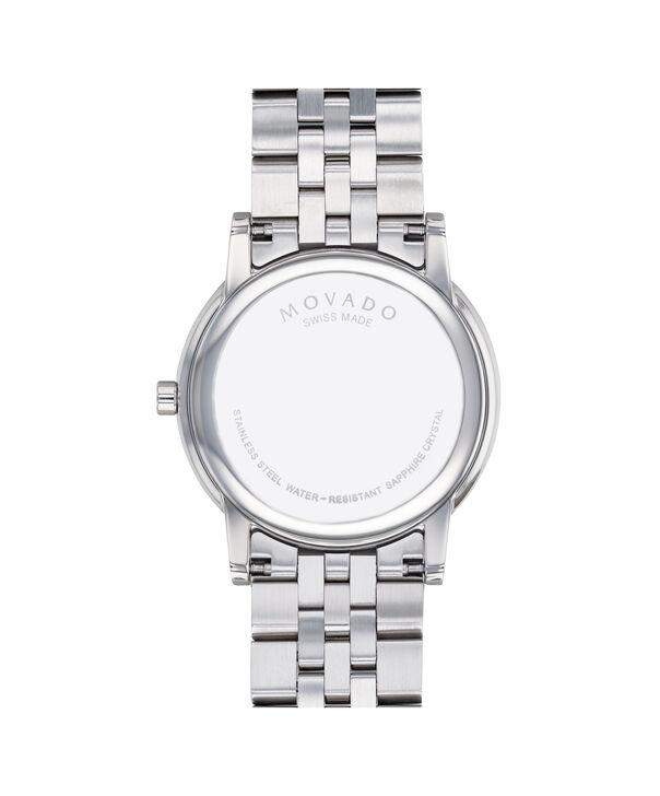 MOVADO Museum Classic0607201 – Montre-bracelet à cadran de 40 mm pour hommes - Back view