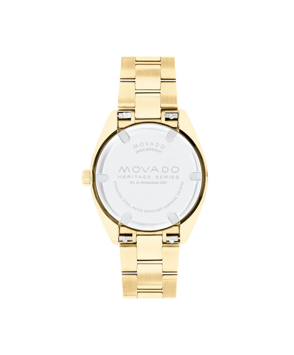 MOVADO Movado Heritage Series3650077 – Women's 31 mm bracelet watch - Back view