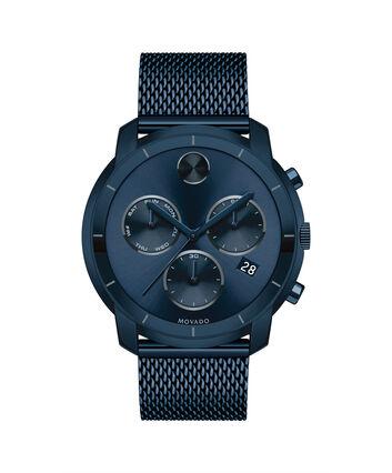MOVADO Movado BOLD3600403 – 44 mm flat mesh bracelet chrono - Front view