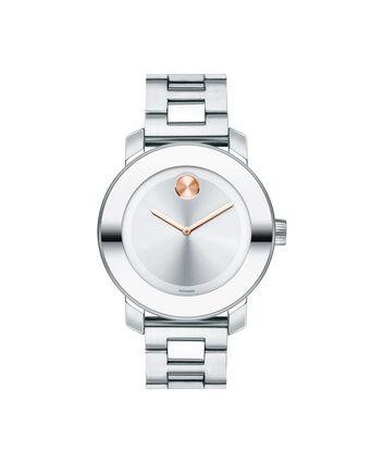 MOVADO Movado BOLD3600084 – Montre de 36 mm avec bracelet en métal - Front view