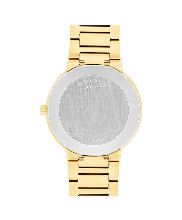 MOVADO Modern Classic0607121 – Men's 40 mm strap watch - Back view