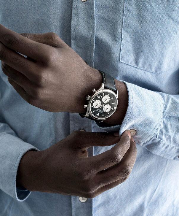 MOVADO Movado Heritage Series3650005 – Chronographe de 43 mm pour hommes, avec bracelet souple - Other view