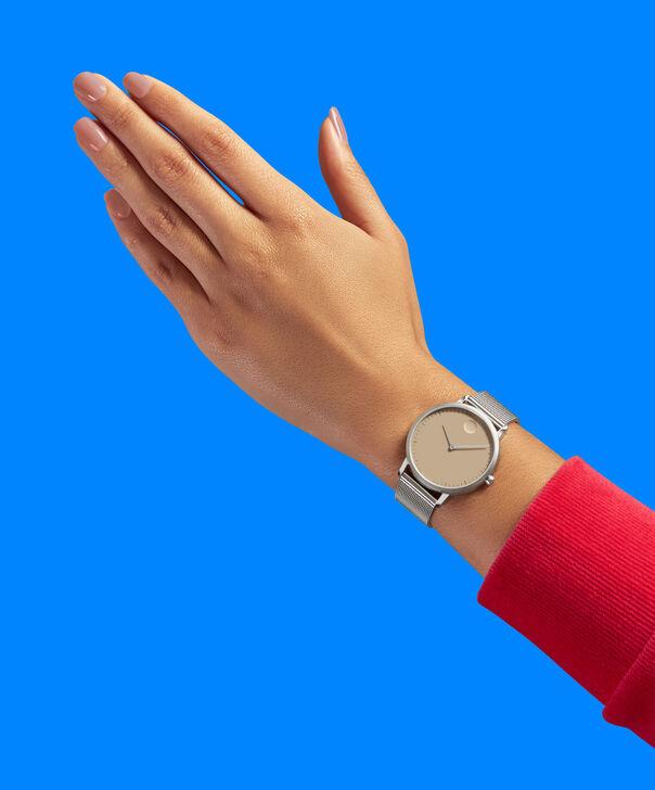 MOVADO Movado Face3640014 – Women's 35 mm bracelet watch - Back view