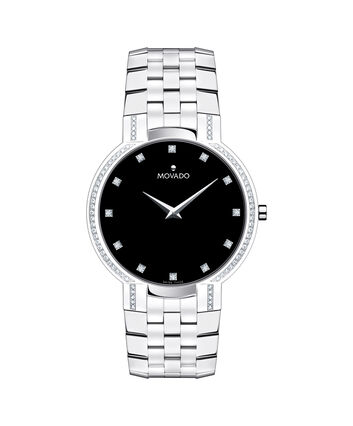 MOVADO Faceto0606237 – Men's 38 mm bracelet watch - Front view